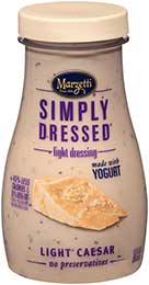 Simply Dressed<sup>®</sup> & Light Caesar Salad Dressing