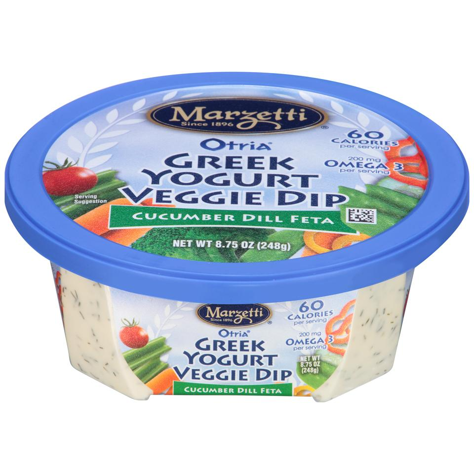 Otria<sup>®</sup> Greek Yogurt Veggie Dip - Cucumber Dill Feta